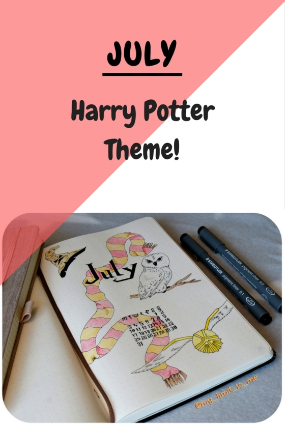 July Harry Potter theme
